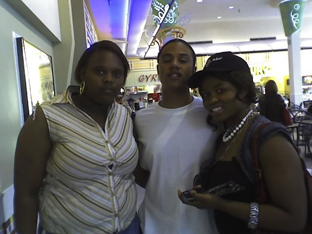 me and lil fizz in B2K