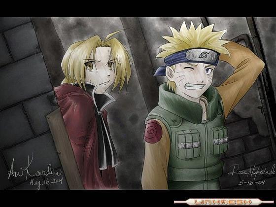 Ed de fma et Naruto