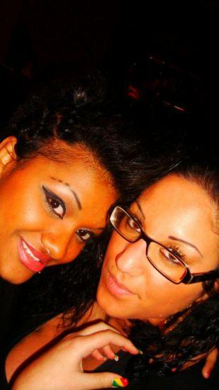 me and casandra