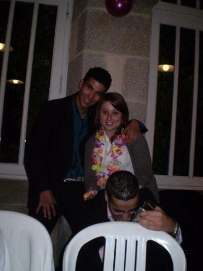 Mon meilleur pote Hamed et ya aussi Mourad ^^