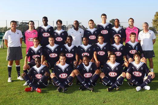 équipe de foot Bx espoirs
