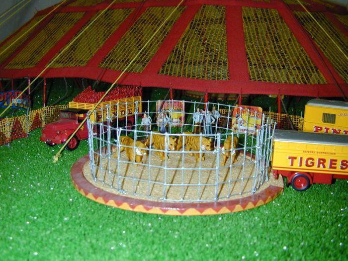 La cage des fauves