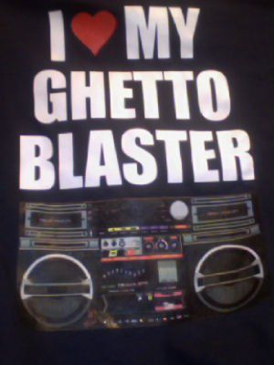 Ghetto Blaster :)