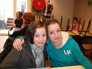 lili et mathilde mes amie :) :p