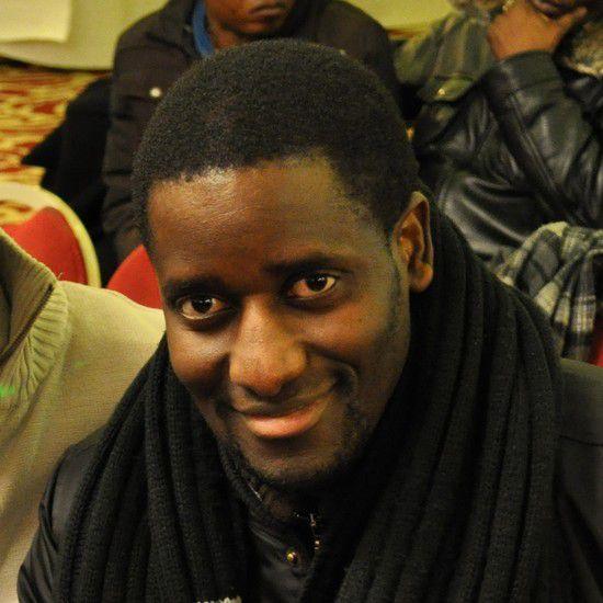 Doumé, animateur de Planète AFRO et responsable  d'antenne