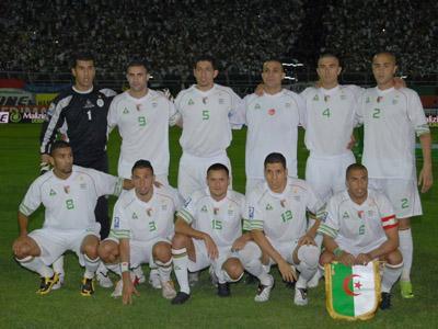 les equpe algerie
