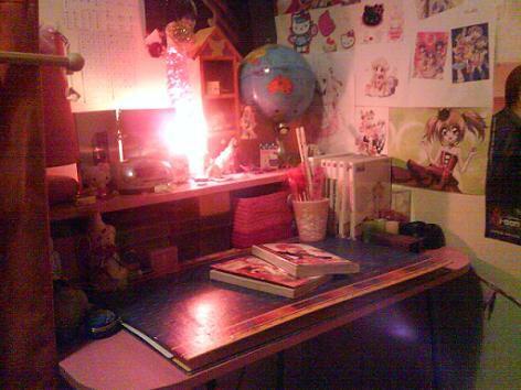 Mon bureau...Qu'est-ce qu'on en a à faire...