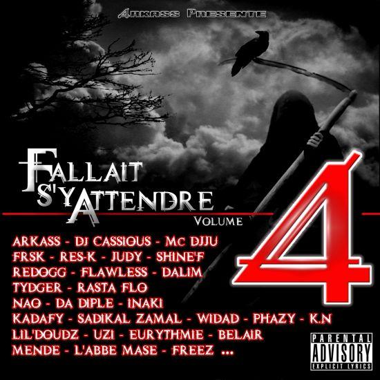 Arkass Présente Fallait S'y Attendre Vol.4 Front