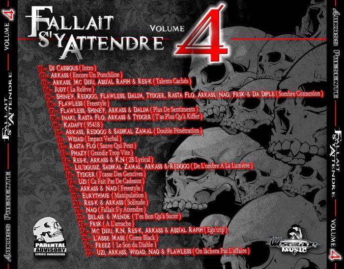 Arkass Présente Fallait S'y Attendre Vol.4 Back