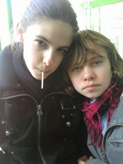 moi & une amie