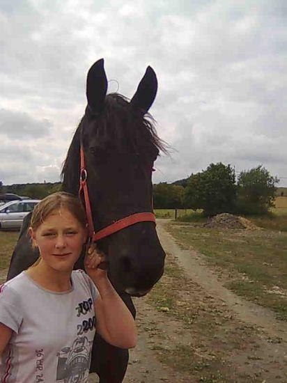 ma soeur et son cheval
