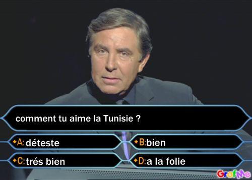 moi jaime tro la tunisie é vou?