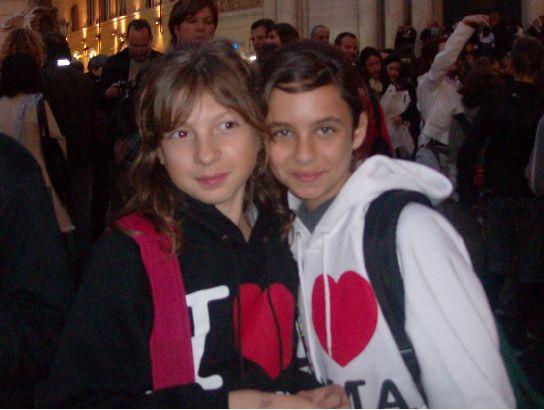 Marina et moi à Rome :P