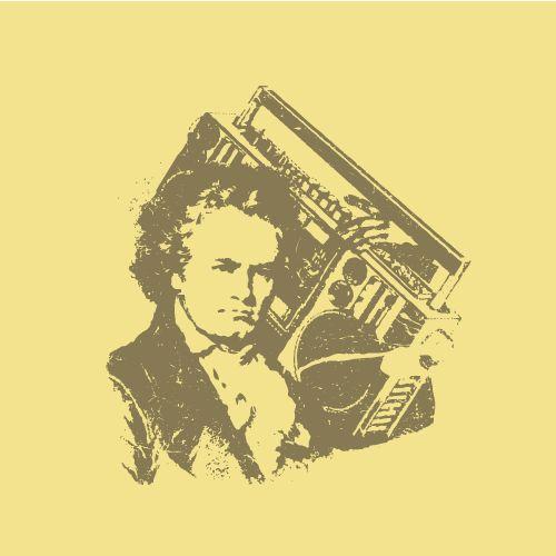 Beethoven en mode Ghetto Blaster