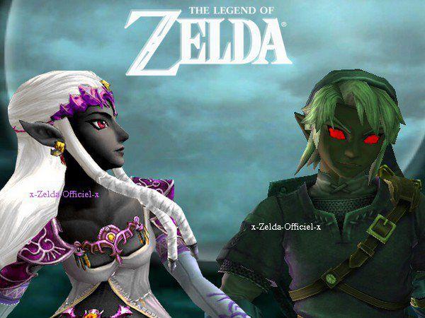 Dark Zelda & Dark Link