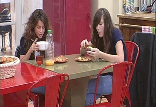 Petit déjeuner avec Ana :) ♥