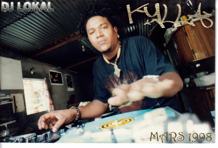 "dj lokal  "" KYLLA in AKTION ""  :  1990"