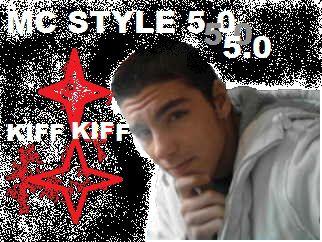 pochette de la zik kiff = kiff