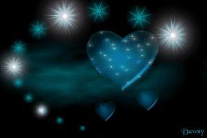 un coeur pour ceux que j'aime