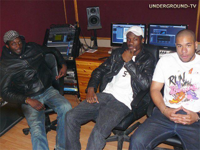 PoPo Le Narvalo au studio Urban Groove avec Djibs & Bille
