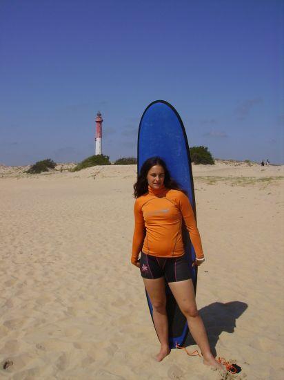 en mode surfeuse