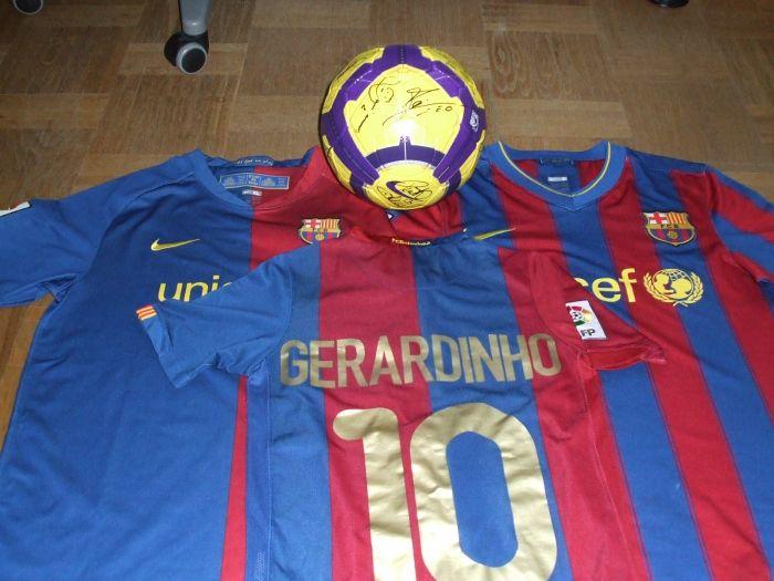 Mon Ballon (voir article) et mes maillots