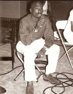 Tupac en Studiio