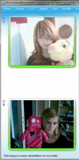Juliaa et moi. Je l'aime cette petite :)