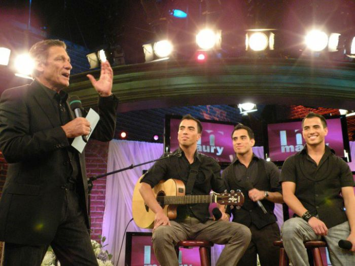 "@ ""The Maury Show""  on NBC (New York)"
