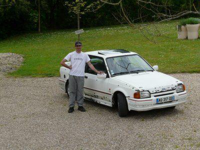 la voiture de l'amour de ma vie son xr3i