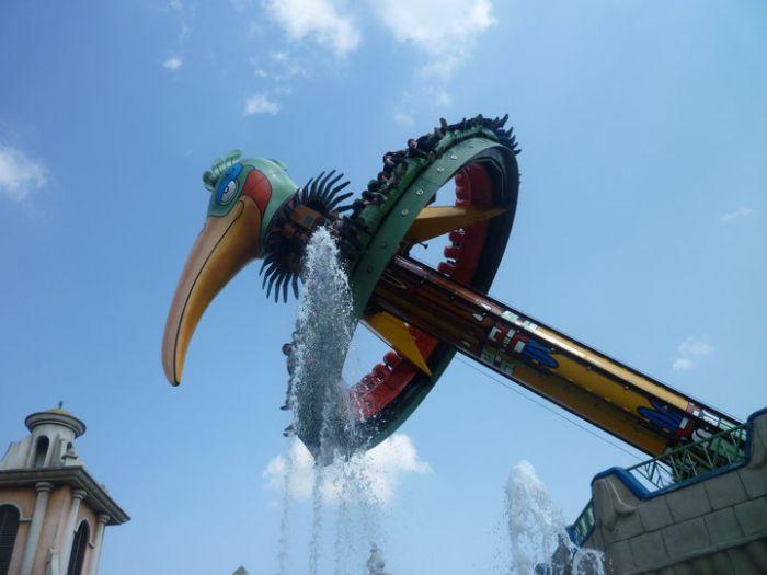 El Volador Bellewaerde Park 2010