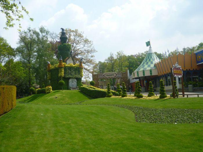 Chateaux de fleurs Bellewaerde Park 2010
