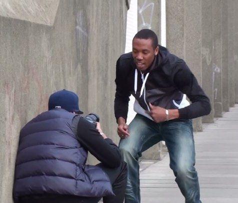 Benjas en tournage