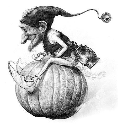J.B MONGE dessinateur faerie
