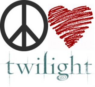 peace and love twilight