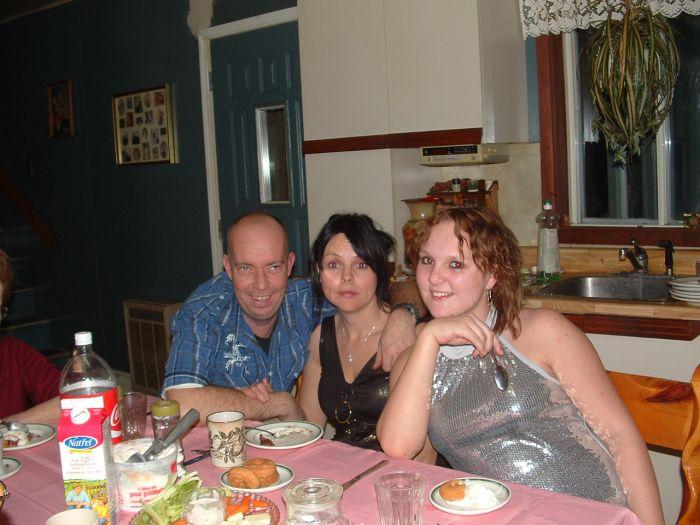 mon garcon, sa femme et leur fille