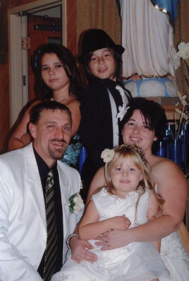 ma fille, son mari et les enfants