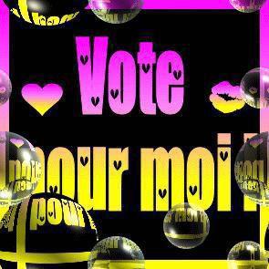 voté pour moi merci