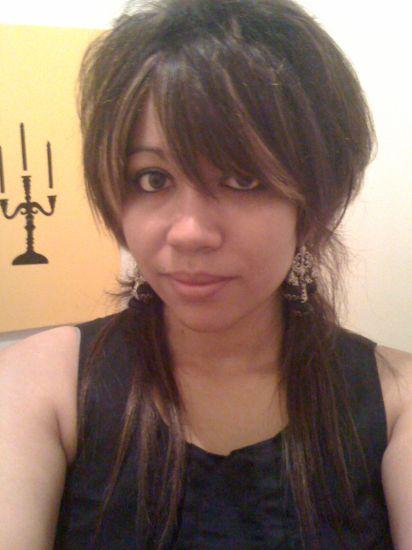 new hair cut... natural hair