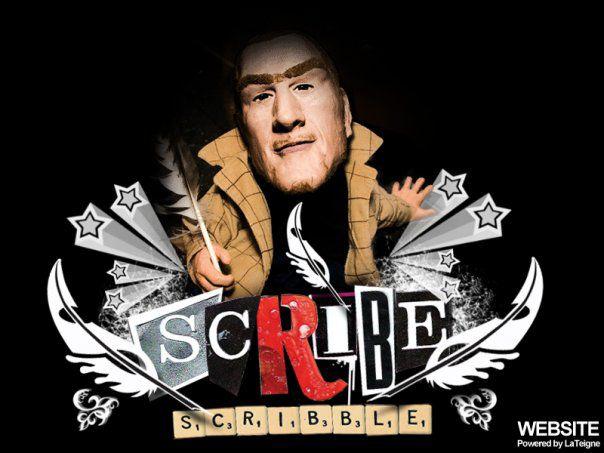 """SCRIBBLE"" PREMIER ALBUM DE SCRIBE DISPONIBLE GRATUITEMENT"