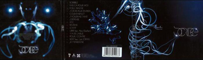 POCHETTE ALBUM SCRIBE BY MORCH