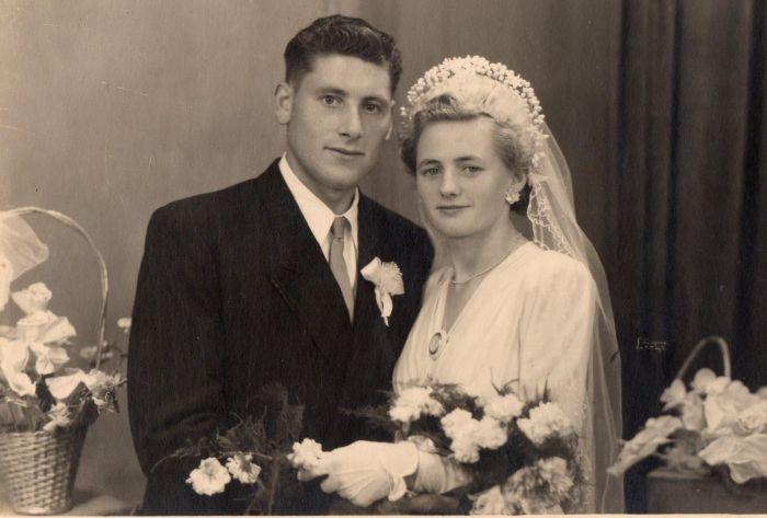 mes parents en 1949