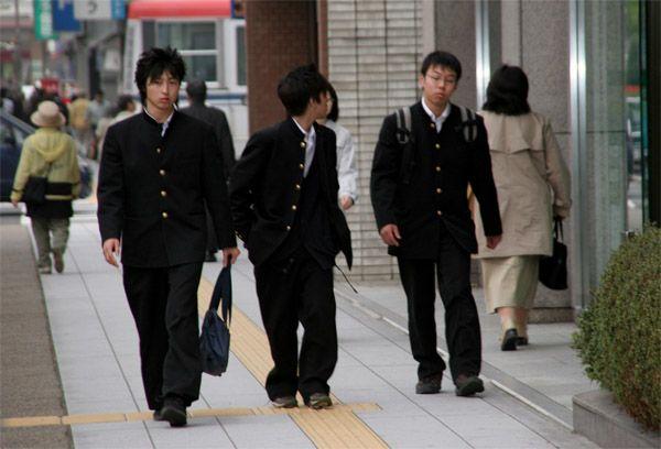 Schoolboys Japanese