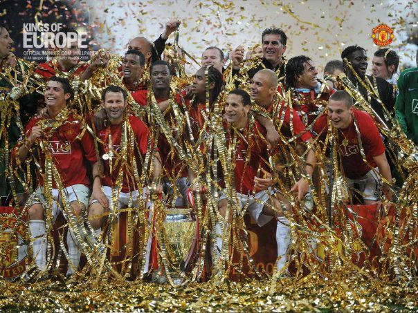 KING OF EUROPE (MANCHESTER UNITED)