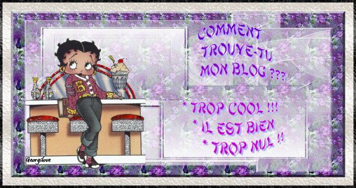 mon blog tu le trouve comment??????????