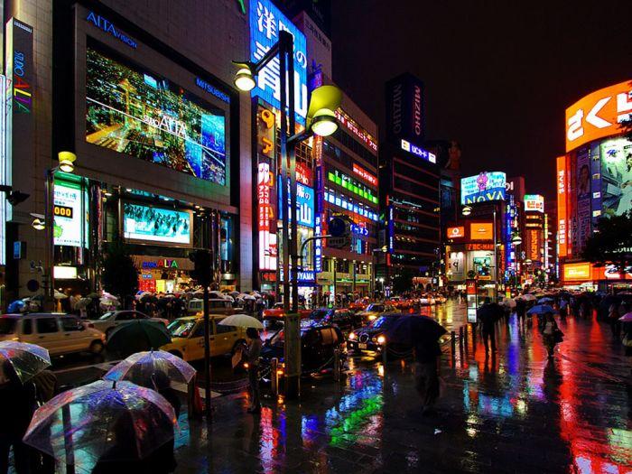 Un petit aperçu du pays (quartier des affaires) Shinjuku