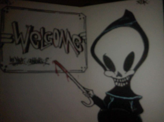 welcome in my blackbook