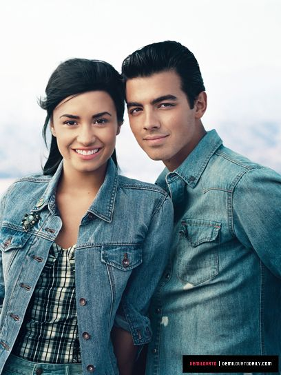 Joe and Demi TeenVogue