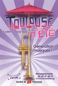 Toulouse D' Eté ( édition juillet-aout 2010 )