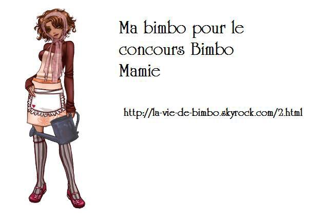 Concours Bimbo Mamie